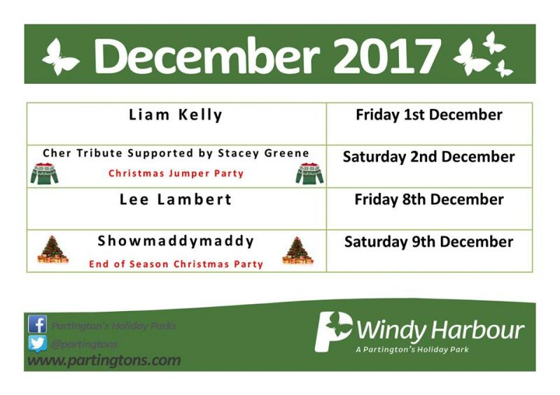 Windy Harbour Entertainment December 2017