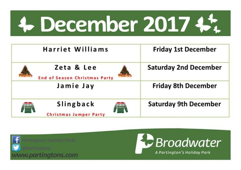 Broadwater Entertainment December 2017
