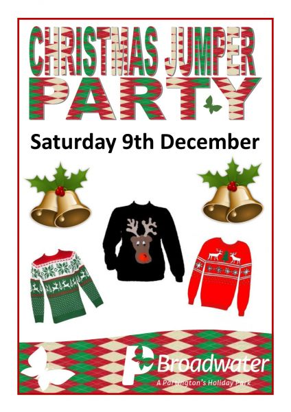 Broadwater - Saturday 9th December - Christmas Jumper Party
