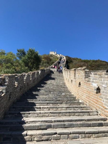 Partington's are walking the Great Wall of China to raise money for Brian House Children's Hospice!