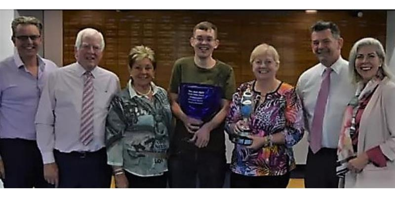 Newton Hall's Indoor Bowling Club honours glorious Gower and Dawes