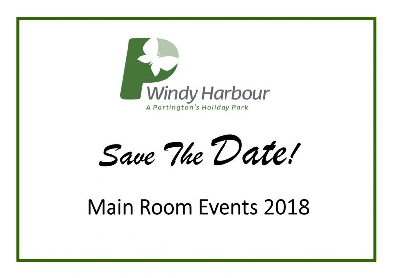 Windy Harbour's Main Room Events 2018