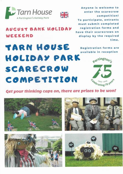 New to Tarn House Holiday Park is the Scarecrow Competition!
