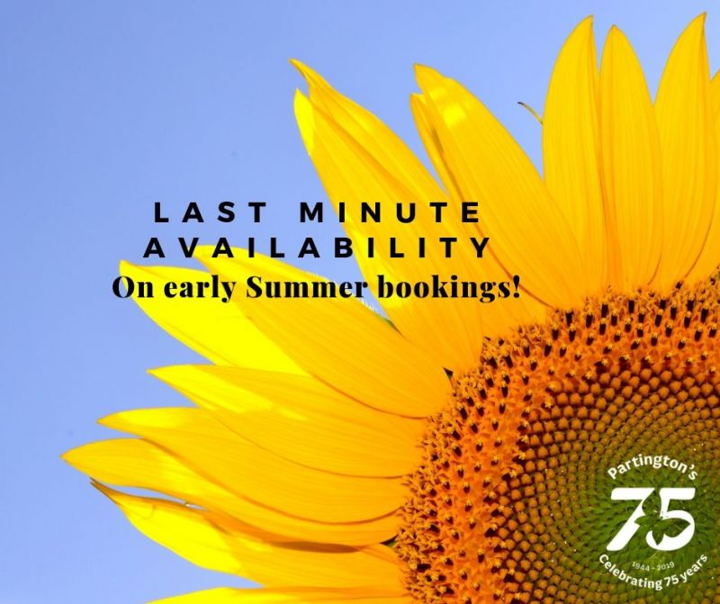Book your holiday in July and receive a 15% discount!