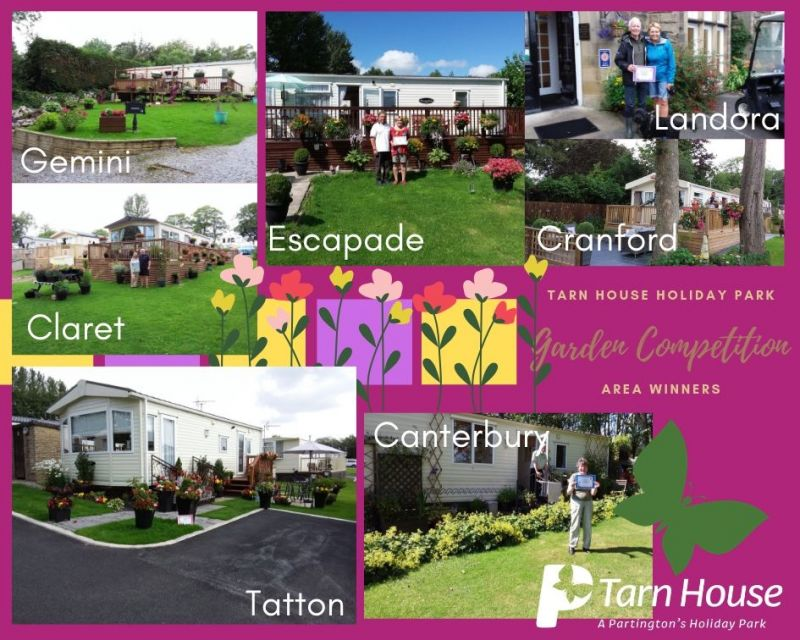 The winners of our Garden Competition at Tarn House Holiday Park have been announced!