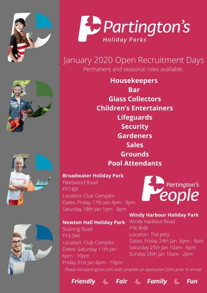 👩‍💻👨‍💻 Join us for our January Recruitment Days! 👨‍🌾👩‍🔧