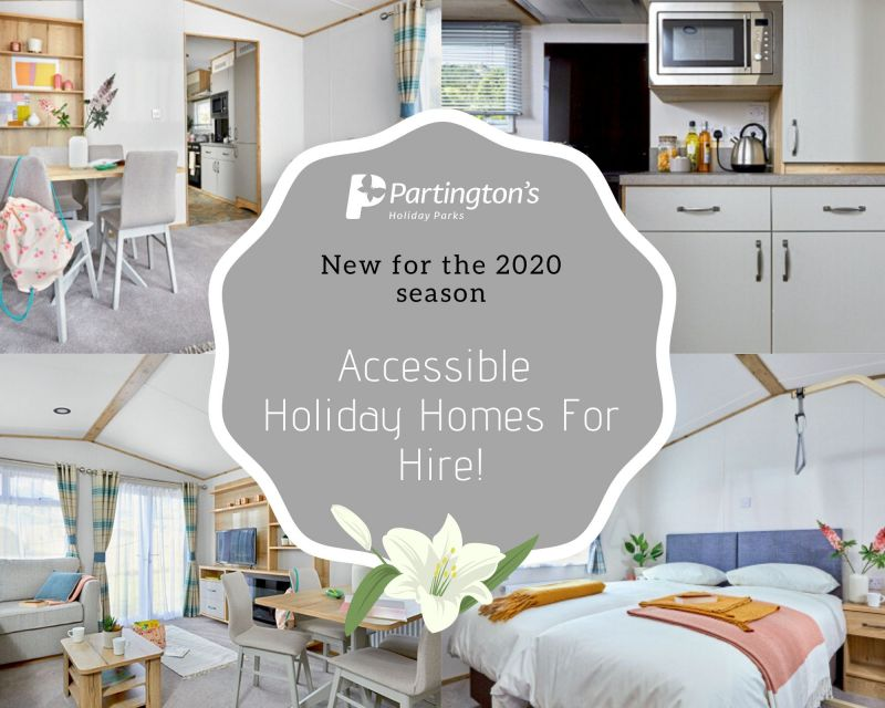 Brand New for 2020 Accessible Holiday Homes For Hire!