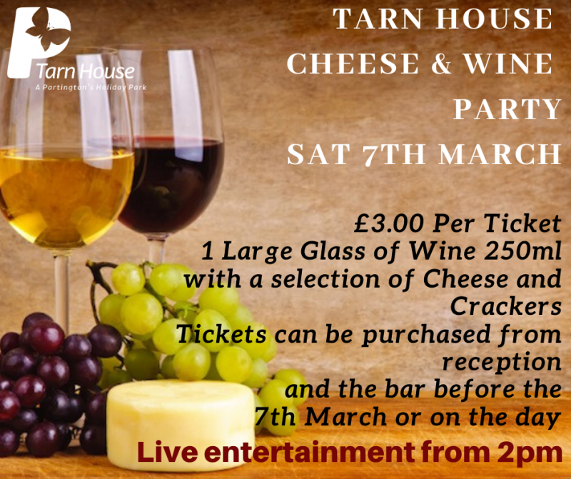 Come and join us in the bar at Tarn House Holiday Park!