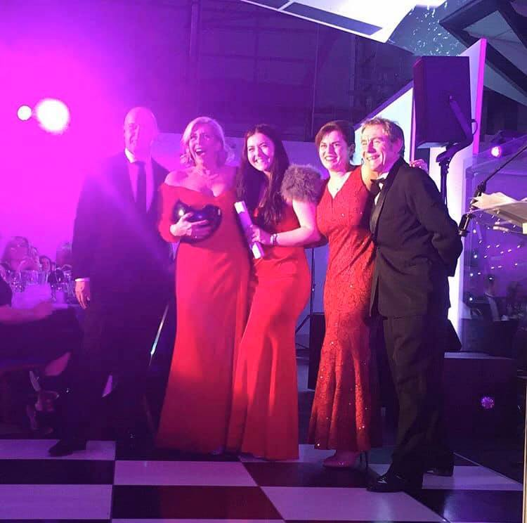 Partington's Holiday Parks Winners of the North West Family Business of the Year Award and The Leisure and Tourism Family Business Award!