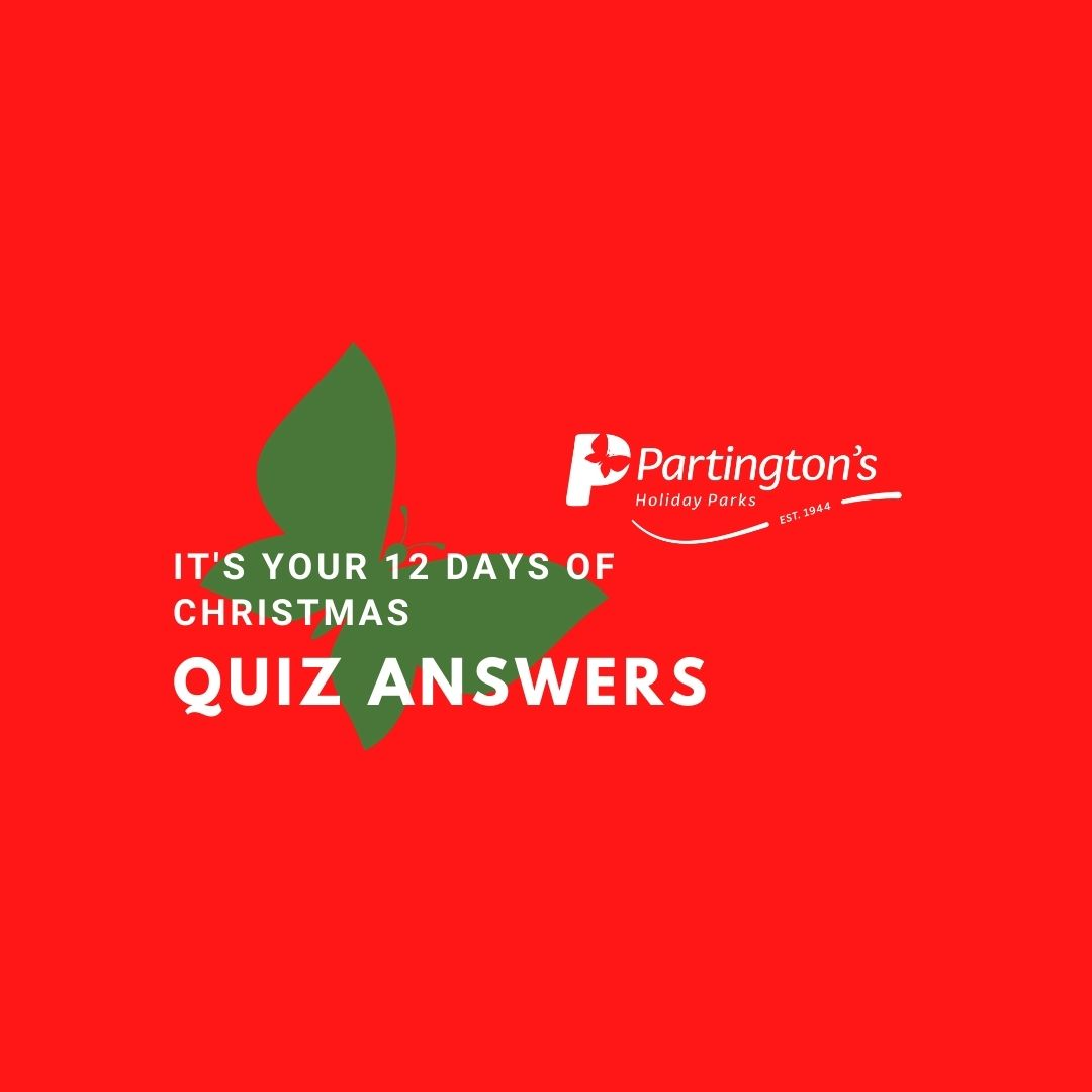 12 Days of Christmas - Christmas Quiz Answers