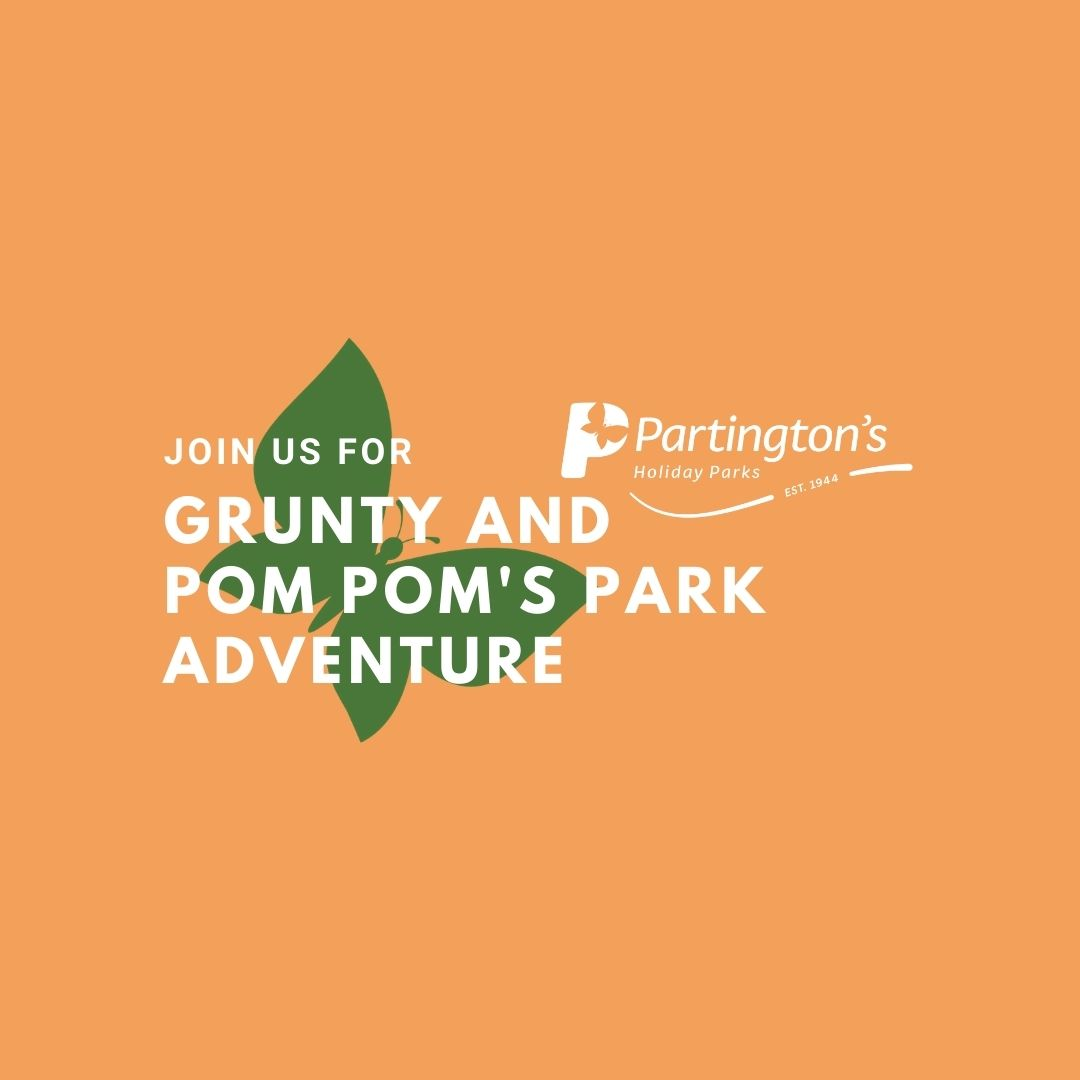 Join Grunty and Pom Pom and their Park Adventure