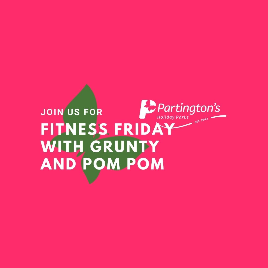It's Fitness Friday with Grunty and Pom Pom