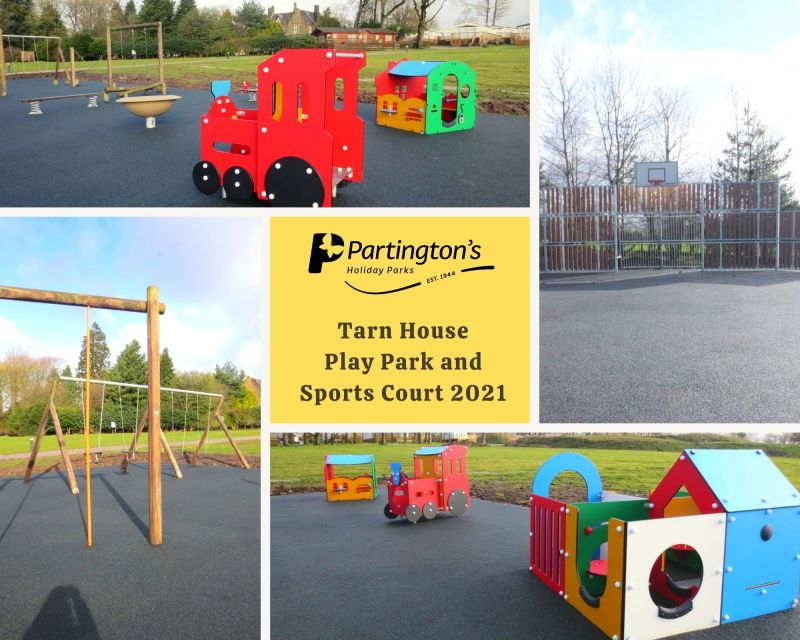 Play Park and Sports Court- New to Tarn House Holiday Park 2021