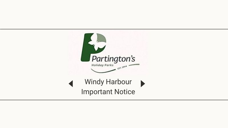 Important Notice - Windy Harbour Holiday Home Owners